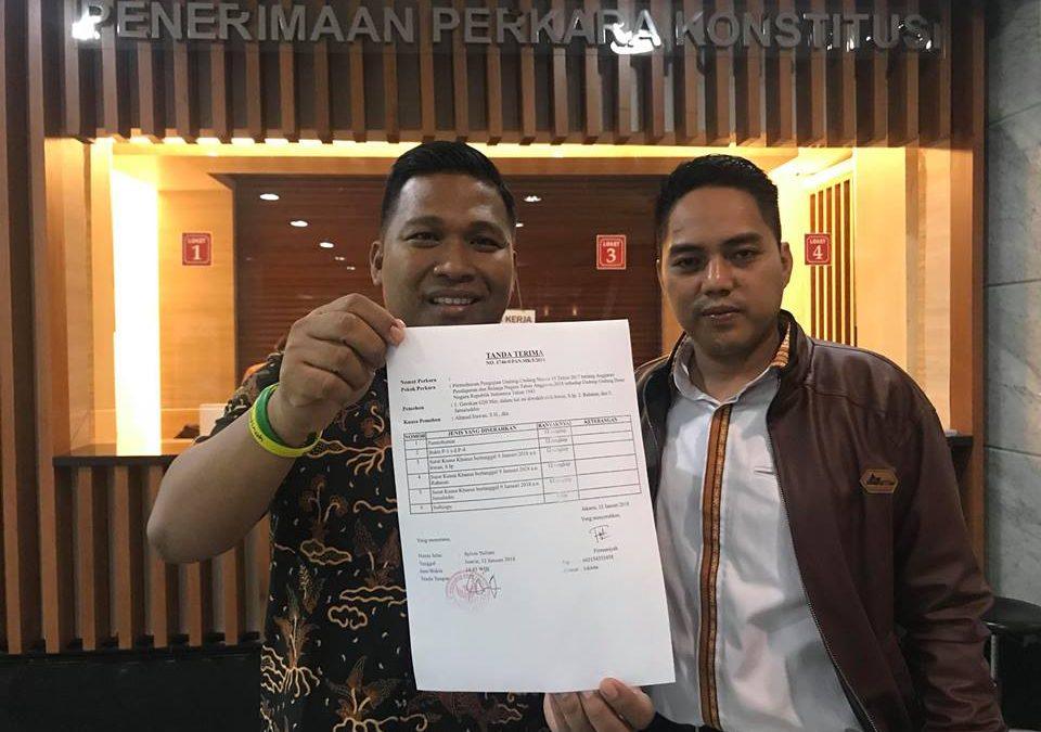 H.Irwan, Gugatan G20Mei ke Pusat di MK Memasuki Tahap Pembuktian
