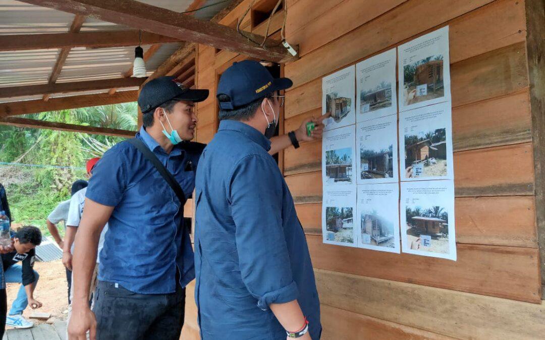 Anggota Komisi V DPR RI Fraksi Demokrat Irwan Tinjau Program Kotaku di Sangatta