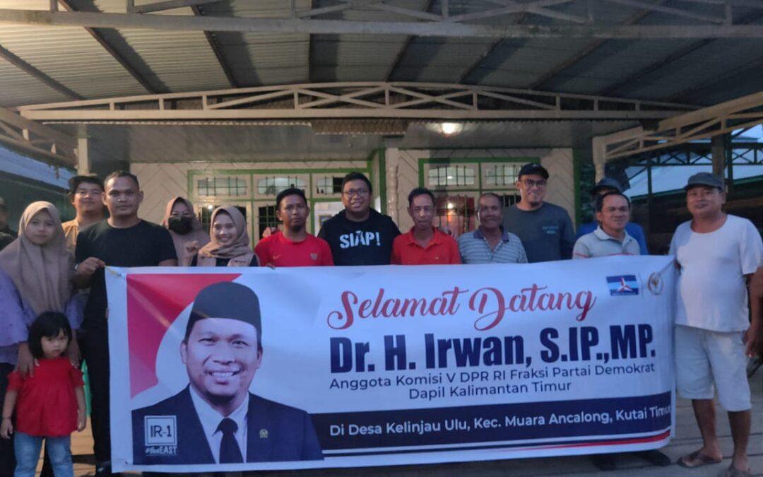 Dr. H. Irwan di Desa Kelinjau Tengah