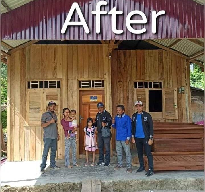 Ini Progres Program BSPS Aspirasi Dr. H.Irwan di Kutai Kartanegara