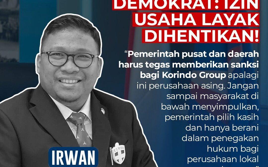 QUOTE DR. H. IRWAN, S.IP.,MP